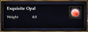 Exquisite Opal