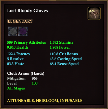 Lost Bloody Gloves