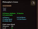 Philosopher's Crown (Level 70)