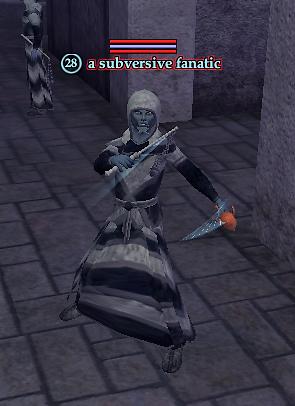 A subversive fanatic