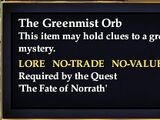 The Greenmist Orb
