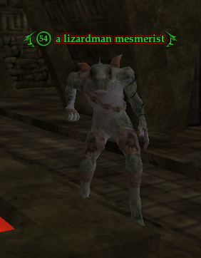 A lizardman mesmerist