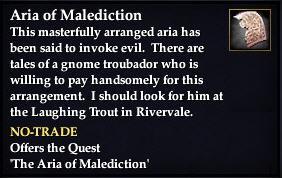 Aria of Malediction