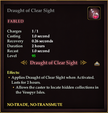 Draught of Clear Sight