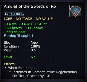 Amulet of the Swords of Ro