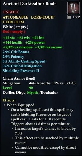 Ancient Darkfeather Boots