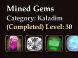 Mined Gems