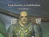 Taskmaster Greeblentus