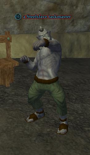 A Steelslave taskmaster