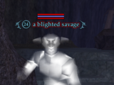A blighted savage