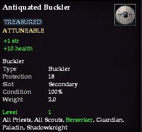 Antiquated Buckler