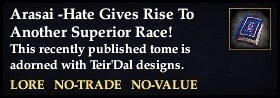 Arasai -Hate Gives Rise To Another Superior Race!