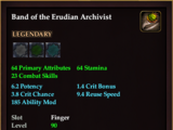 Band of the Erudian Archivist
