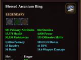 Blessed Arcanium Ring
