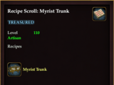 Recipe Scroll: Myrist Trunk