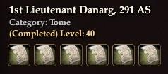 1st Lieutenant Danarg, 291 AS (Collection)