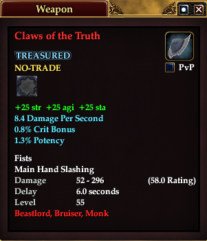 Claws of the Truth