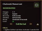 Clockwork Manservant