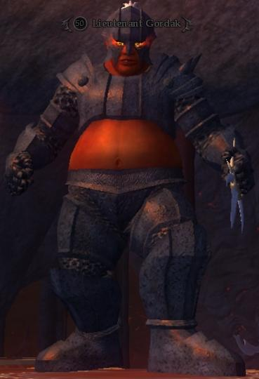 Lieutenant Gordak