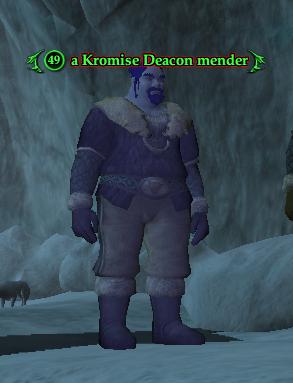 A Kromise Deacon mender
