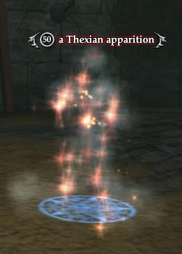 A Thexian apparition