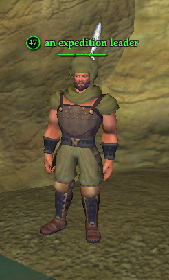 An expedition leader