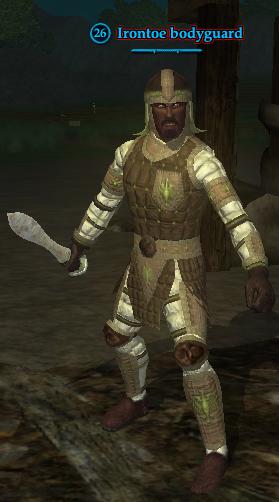 Irontoe bodyguard