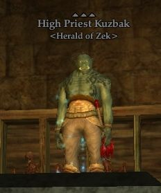 High Priest Kuzbak