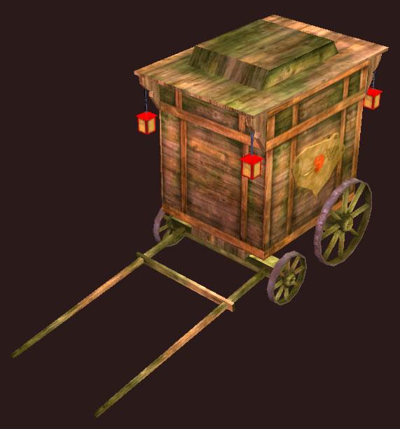 Aged Caravan Wagon