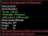 Arcane Handguards of Elements