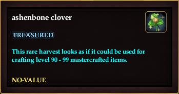 Ashenbone clover