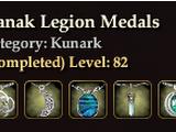 Danak Legion Medals