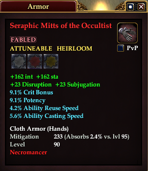 Seraphic Mitts of the Occultist