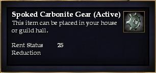 Spoked Carbonite Gear (Active)