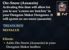 Orc-Snow (Assassin)