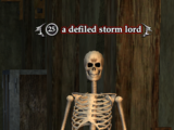 A defiled storm lord