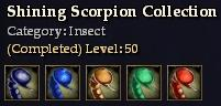 Shining Scorpion Collection