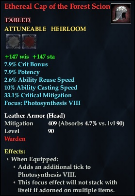 Ethereal Cap of the Forest Scion