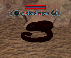 A blood viper (The Crypt of T'haen)