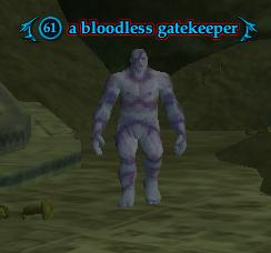 A bloodless gatekeeper