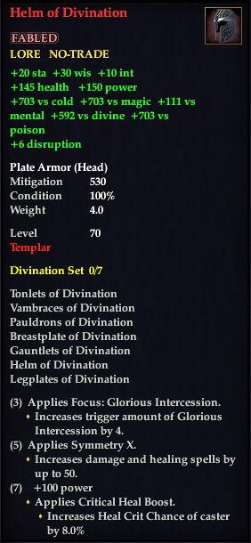 Helm of Divination (Version 1)