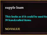 Supple loam