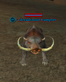 A dreadsnout trampler