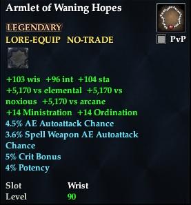 Armlet of Waning Hopes
