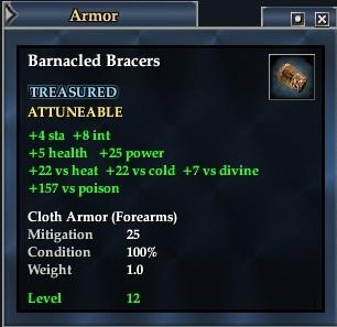 Barnacled Bracers