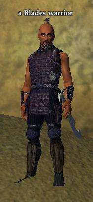 A Blades warrior
