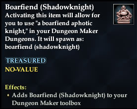 Boarfiend (Shadowknight)