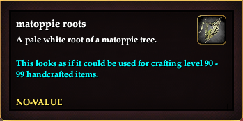 Matoppie roots