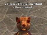 Heroes' Festival Merchant Items