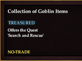 Collection of Goblin Items